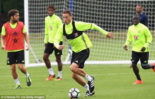 Matic has suffered a dip in form with Chelsea and was linked with a move away in the summer