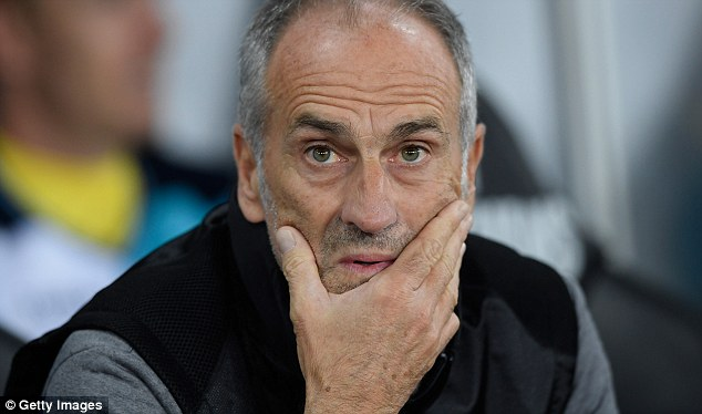 Swansea boss Francesco Guidolin has apparently lost the dressing room after subbing players