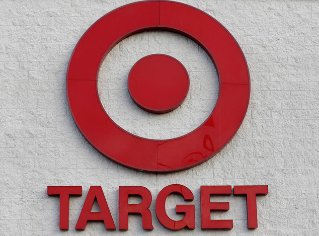 FILE - This Dec. 19, 2013, file photo shows a Target retail chain logo on the exterior of a Target store in Watertown, Mass. The Yahoo hack, reported on Thur...