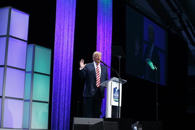 Republican presidential candidate Donald Trump said this week that African American communities were in their worst shape 'ever, ever ever'