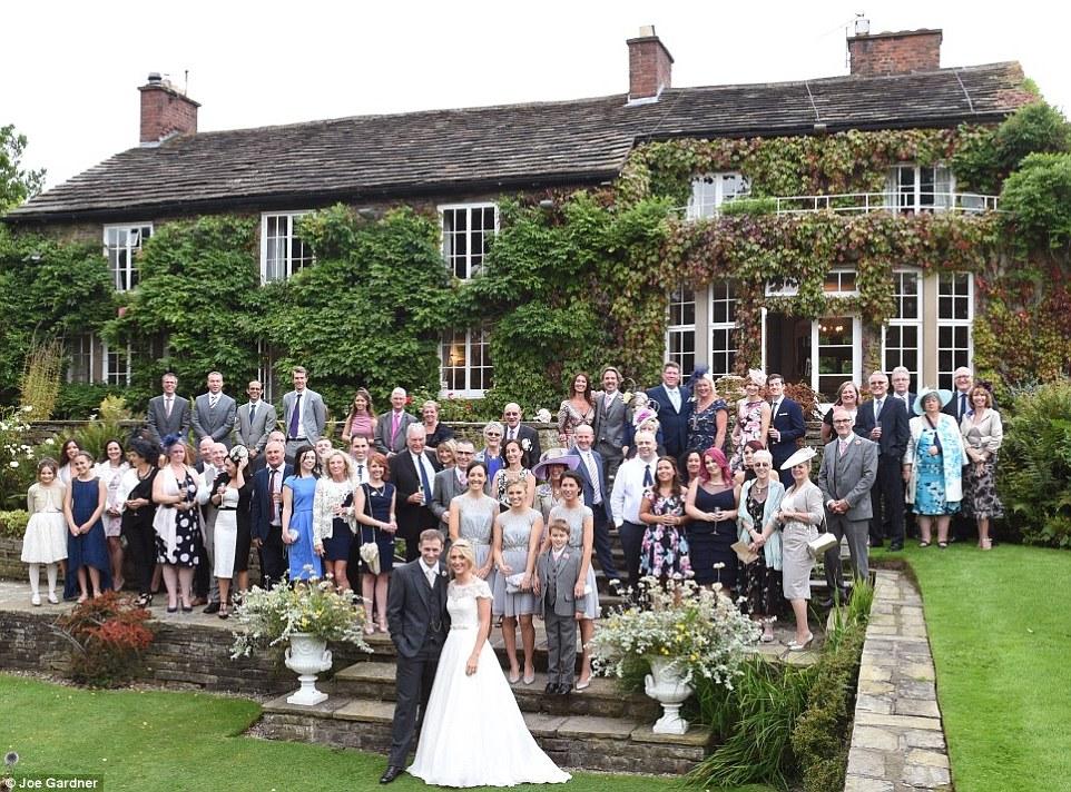 Big house wedding