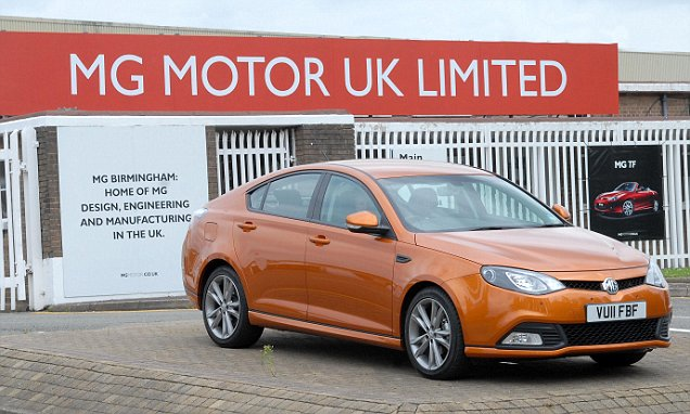 MG Motor closes its Longbridge production line with all models to be built in China