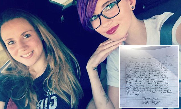 Mother shares hilarious tardy note she wrote for her 14-year-old daughter
