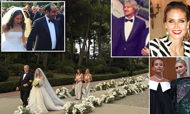 Alberto Mugrabi se casa com Colby Jordan, na festa Riviera Francesa