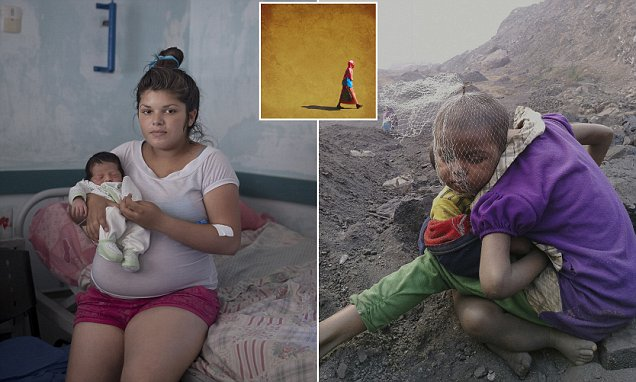 Teenage pregnancies around the world featured in Getty Images Instagram Grants