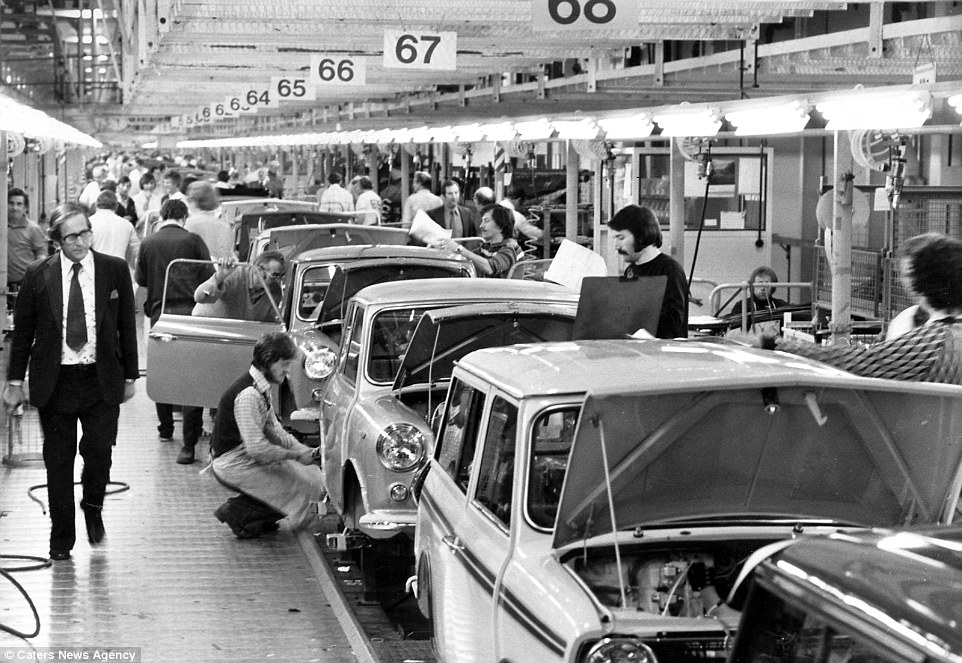 Photographs Of Longbridge Mg Rover Plant Daily Mail Online