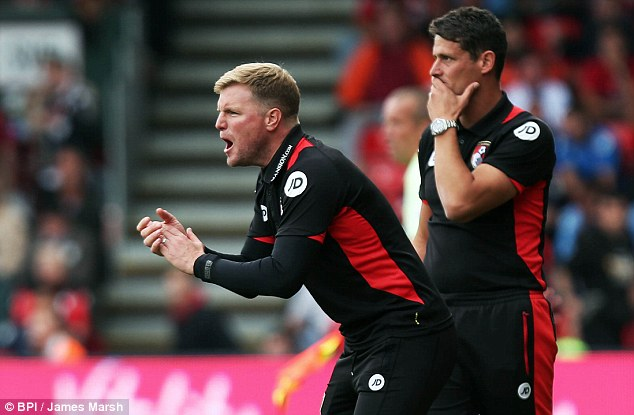 Bournemouth boss Eddie Howe recently described the Three Lions post as 'the ultimate job'