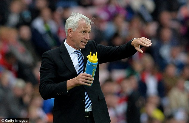 Alan Pardew has also stated his desire to manage England at some point in his career