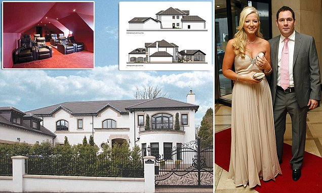 She's going up a size! Bra tycoon Mone plans to expand £1.5m 'dream' mansion with an extra