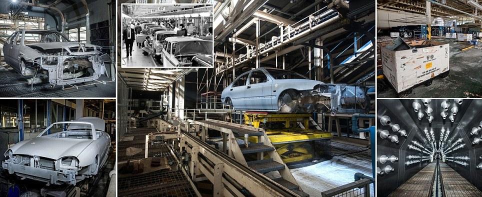 Haunting photographs reveal how Longbridge MG Rover plant has lain abandoned