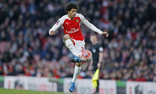 Arsenal's Mohamed Elneny admits Basle taught him everything about European football | Daily Mail Online