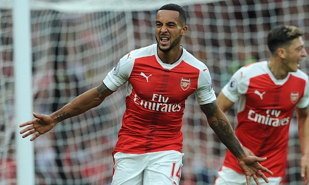 Theo Walcott admits last season was a wake-up call and Arsenal forward is finally ready to fulfill potential | Daily Mail Online