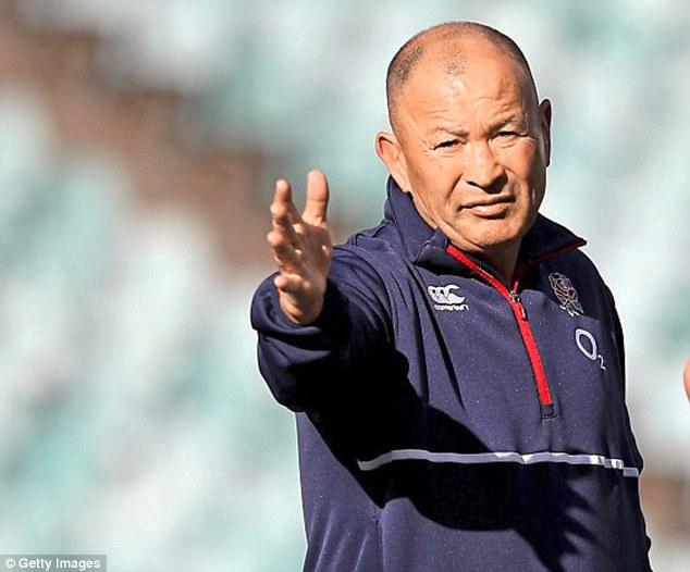 Since taking charge of England Eddie Jones has coached his side to nine successive victories