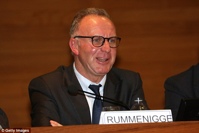 Bayern Munich are taking a chunk of Champions League cash, says Karl-Heinz Rummenigge