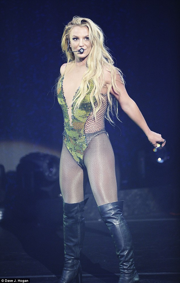 Back in Blighty!Britney Spears hit the stage in London on Tuesday night in her first UK gig in five years