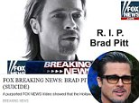 Brad Pitt death hoax is actually malware that can destroy phones