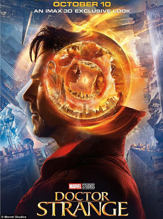 ... at Benedict Cumberbatch's Doctor Strange... as new trailer is released