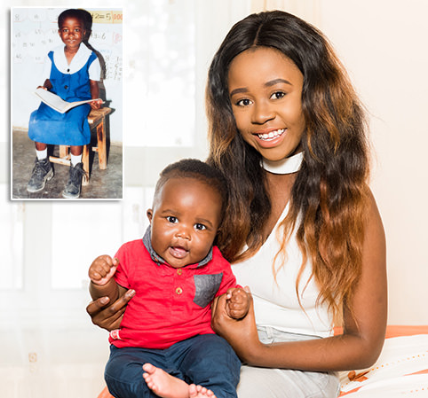 Mother, 20, says she is 'proof HIV shouldn't stop you from becoming a parent'