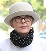 Keep it under your hat: Diane Keaton showed off her quirky style during a day out in Beverly Hills