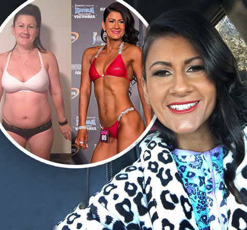 Mother-of-two loses almost 40 KILOS after taking up bodybuilding