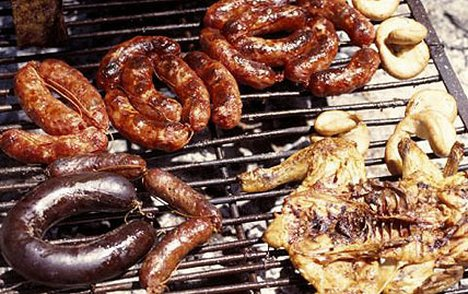 Buenos Aires barbecue...