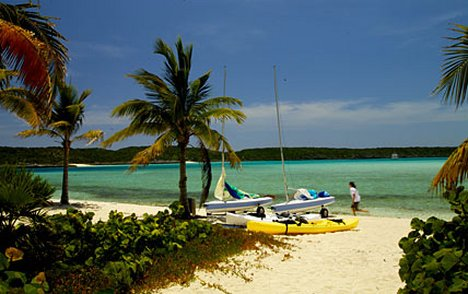 All water sports are included when staying at Fowl Cay
