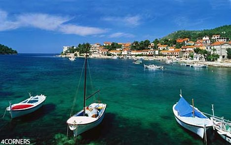 The archipelago in the Adriatic offers great sailing and, in summer, is a yachtie's paradise