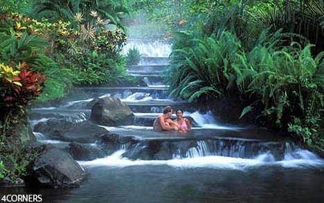 Hot springs at Tabacon Grand Spa Thermal Resort