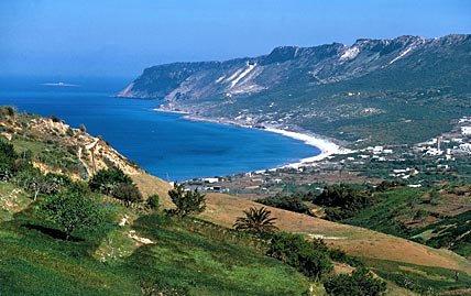 Tunisia coastline