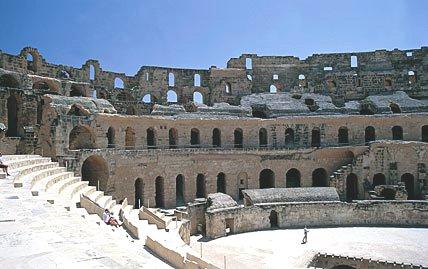 The coloseum at El Jem
