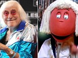 A popular character from children's television show the Tweenies appeared dressed as paedophile Jimmy Savile on a repeat of the programme originally aired in 2001.
