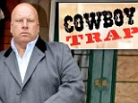 Presenter Clive Holland has been dismissed from the BBC One daytime show Cowboy Trap