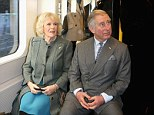 Charles and Camilla take the Tube