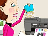 A typical family running a busy printer can easily spend £200 a year on ink alone because cartridges are so dear