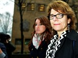 Facing jail: Vicky Pryce swept away from court without saying a word having been found guilty of perverting the course of justice