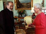 n recovery: The Queen, pictured with the winner of the 'Queen's Gold Medal for Poetry', John Agard, at Buckingham Palace earlier today, has cancelled all public engagements for this week