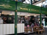 Marks and Spencer market stall