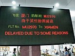 Helpful: A series of photographs posted on an online blog details bizarre and hilarious English translations in airports across Asia