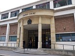 Allegations: A teenage soap actor is on trial at Blackfriars Crown Court accused of rape and sexual assault