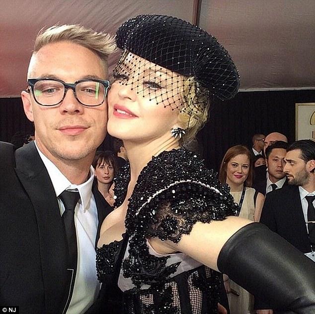 Defending Madge: Diplo, 36, said the Rebel Heart songs were good but the Like A Virgin star 'didn't get a fair shot'